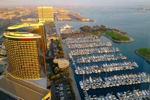 Ilta-aurinkoa, San Diego